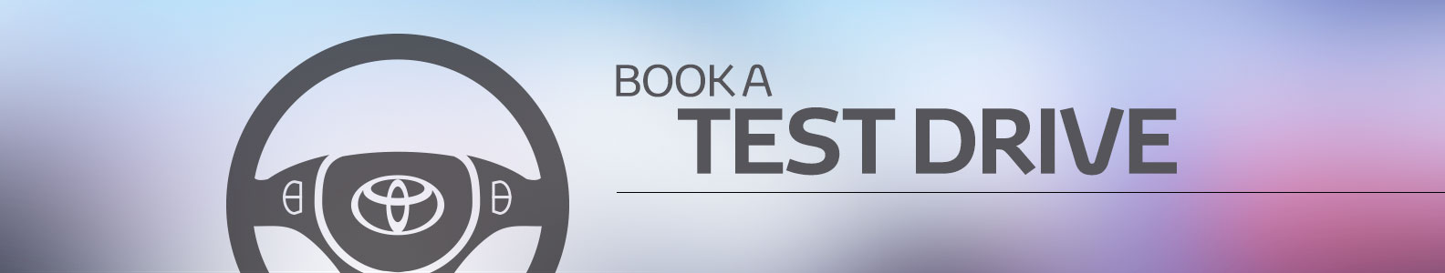 Thank you for booking a test drive
