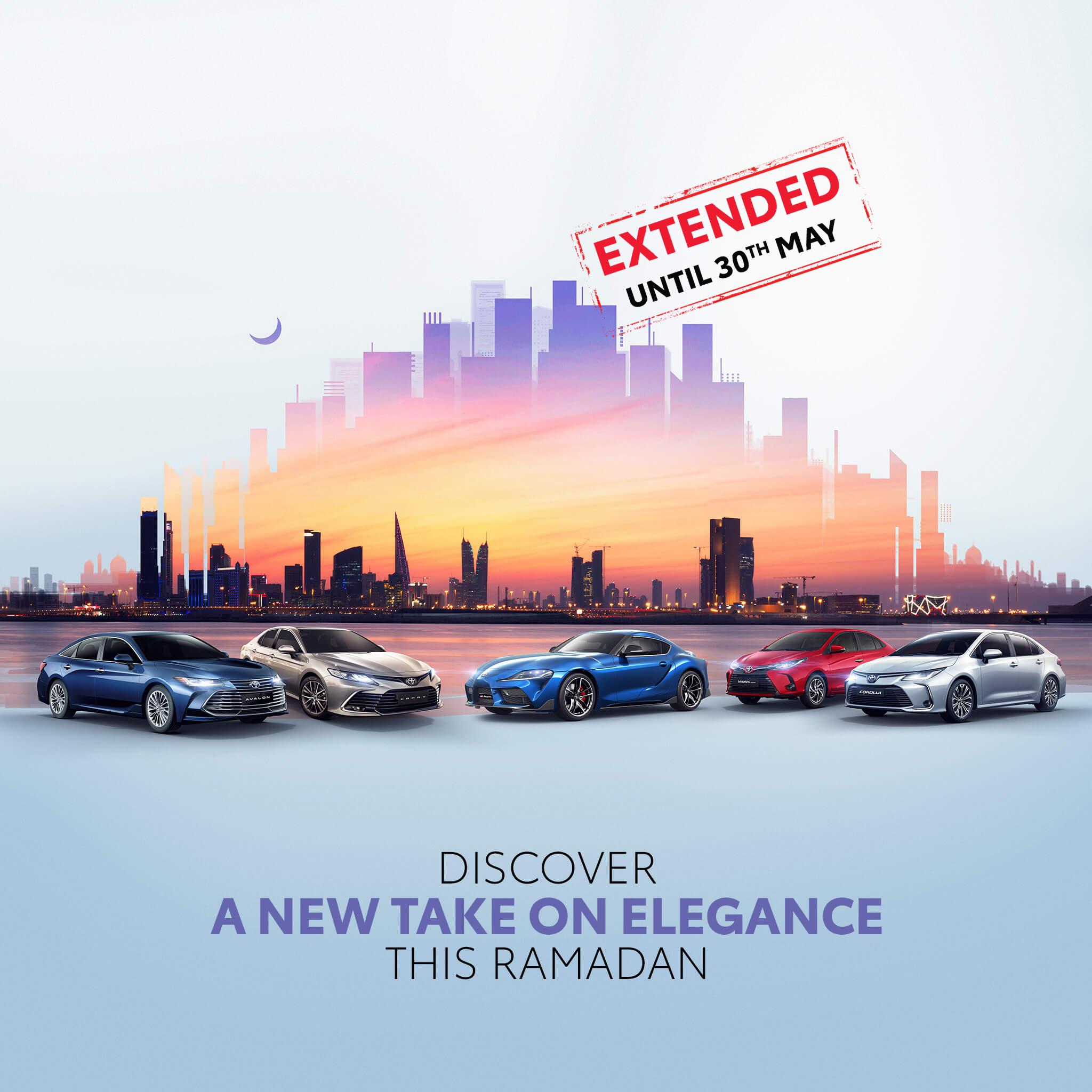 Offers for sedan toyota Bahrain 2021 Ramadan